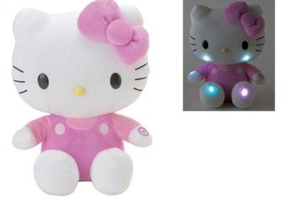 "Retired Sanrio Hello Kitty Lightup Collectible 11.75"" Plush Doll"
