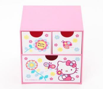 Retired Sanrio Hello Kitty Mini Chest: Flower Collection
