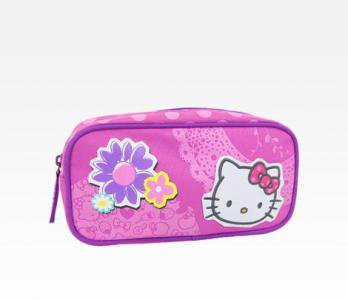 Retired Sanrio Hello Kitty Pencil Case: Spring Flowers Collection