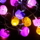 Retired Hello Kitty String Lights: Glow by Sanrio