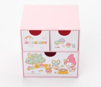 Retired My Melody Mini Chest: Tea Party Collection