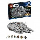 Retired Lego Star Wars Millennium Falcon #7965 - 1254 Pieces Building Toy