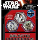 Topps Disney Star Wars Galactic Connexions Series 3 Trading Disc & Game Blind Bag ×15 Sealed Packs