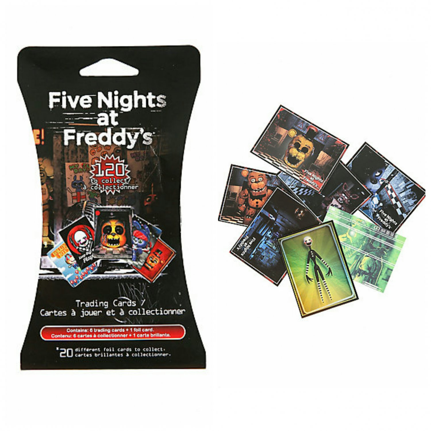 Five Nights At Freddy's FNAF Collectible Trading Cards Hanger Pack �25 Sealed