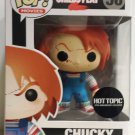 Retired FUNKO Child's Play 2 POP! Movies Blood Splattered Chucky #56 VinylFigure Hot Topic Exclusive