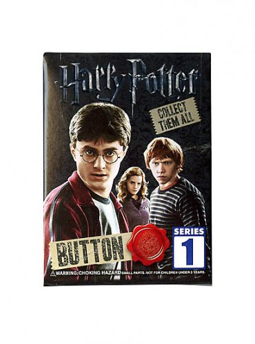 Harry Potter Series 1 Collector Buttom Pin Mystery Blind Bag �15 Sealed Packs