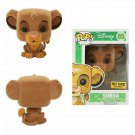 Disney The Lion King #85 POP! Flocked Simba Vinyl Figure Hot Topic Exclusive
