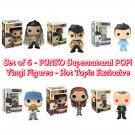 Set of 6 FUNKO Supernatural POP! Television BOBBY SINGER, CHARLIE, CROWLEY, & CASTIEL (×3) Figures