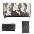 Supernatural Season 11 Image Flap Wallet - Sam & Dean Winchester Brothers & Castiel by Bioworld