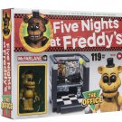 Five Nights at Freddy's Wave 1 McFarlane Golden Freddy The Office Construction Set Walmart Exclusive