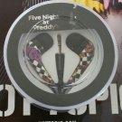 Five Nights At Freddy's | FNAF Checkerboard Print Design In-Ear Earbuds Earphones Heaphones