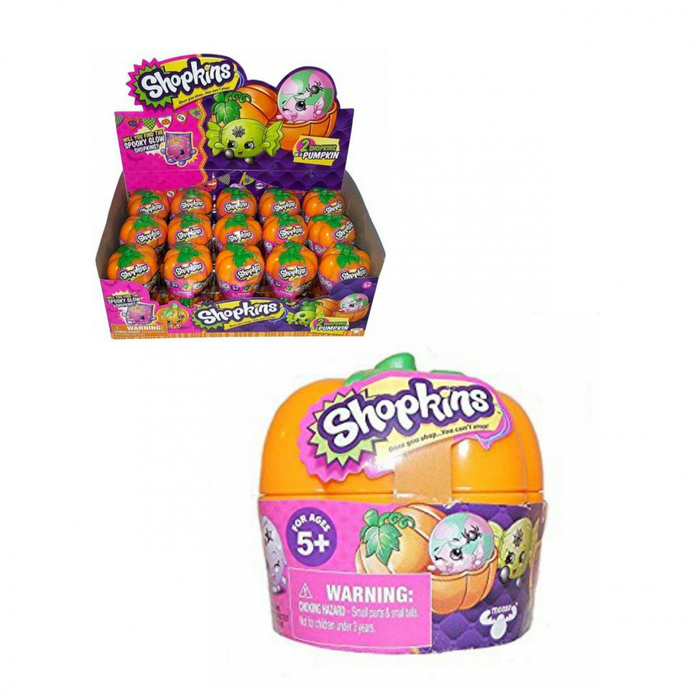 Special Shopkins Halloween Pumpkin Mystery Blind 2Pk Figure Basket Case of �30 by Moose Toys