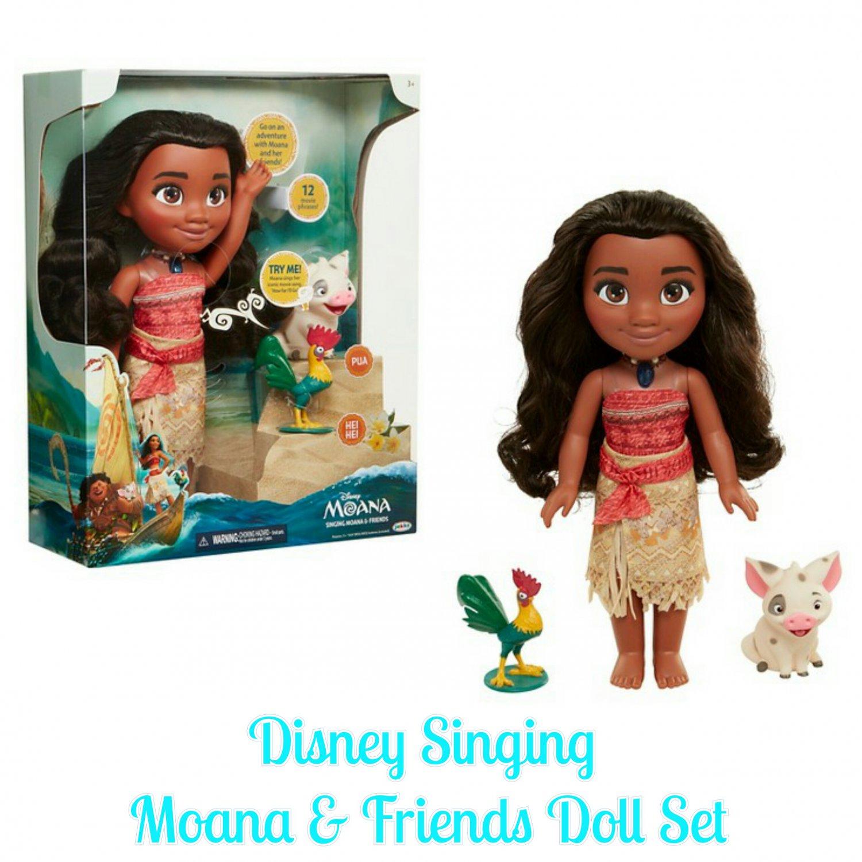 Disney Moana Princess Singing Moana & Friends (Pua & Heihei) Doll Set by Jakks Pacific  #99551