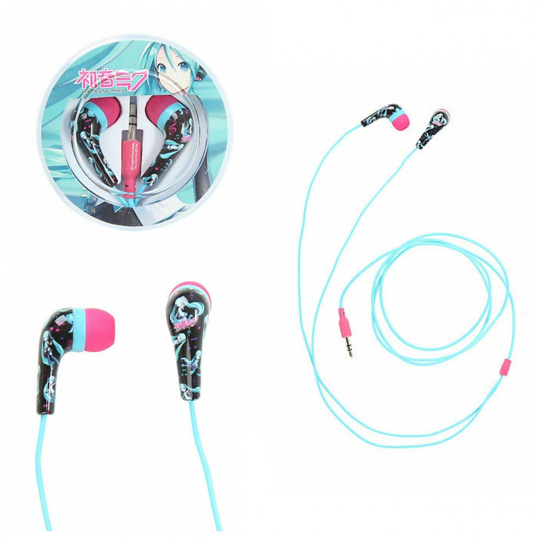 Hatsune Miku Character Earbuds Earphones Headphones by Bioworld