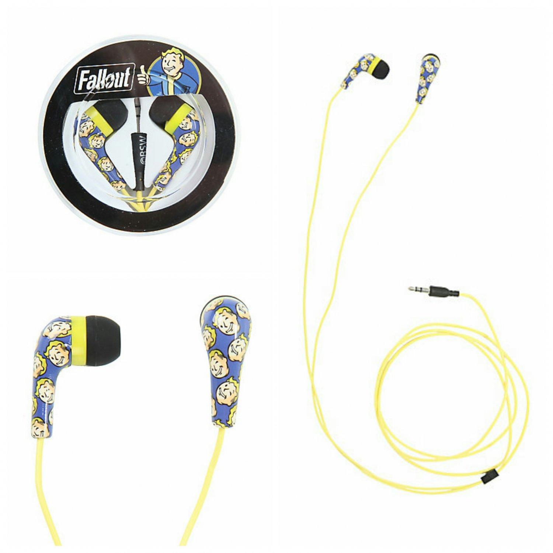 Fallout Vault Boy Earbuds Earphones Headphones by Bioworld