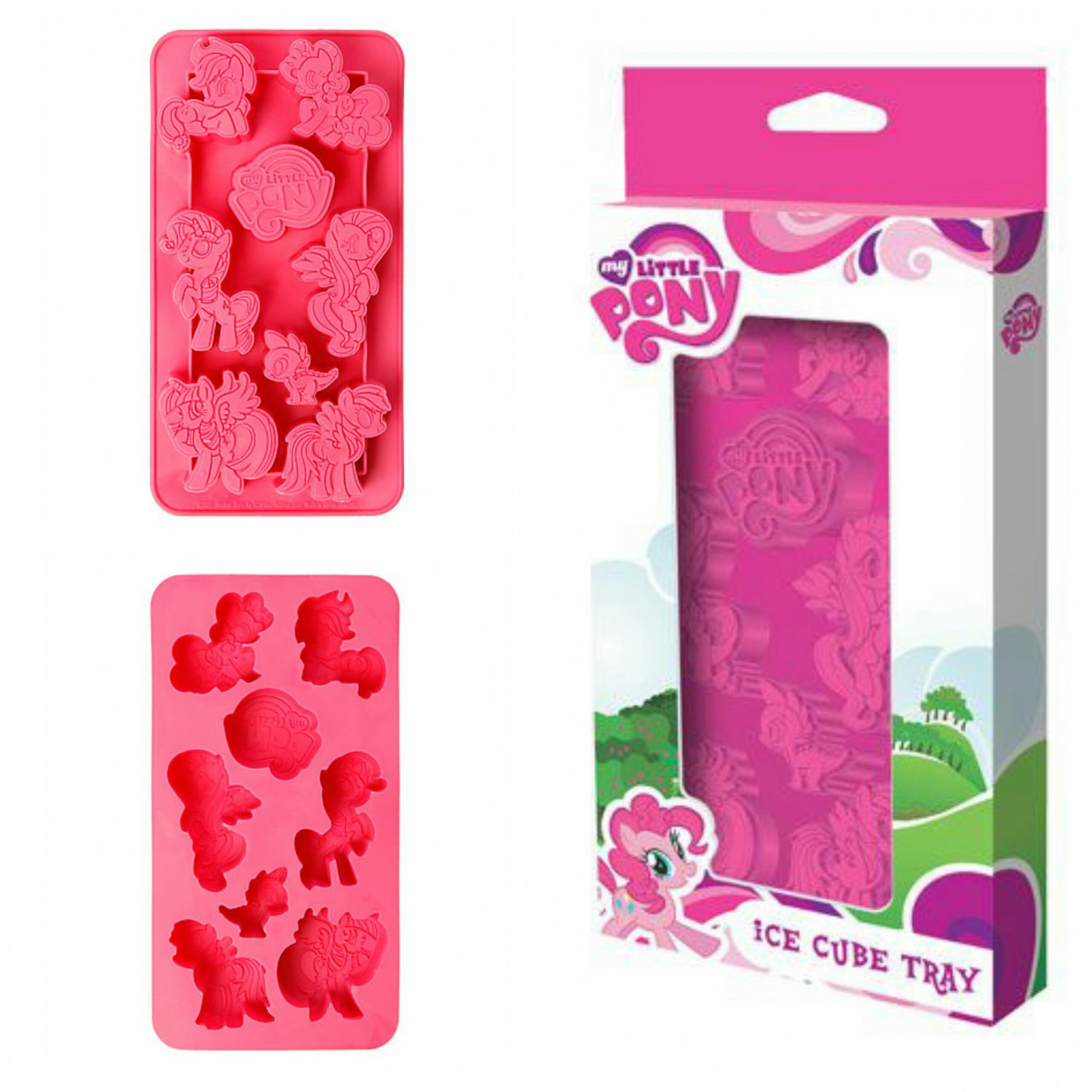 Special Edition Collector's My Little Pony Silicone Ice Cube Tray by ICUP #38619