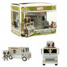 FUNKO Marvel Pop! Rides #10 Chimichanga Truck w/ Deadpool Bobble-Head Vehicle 2015 SDCC Exclusive