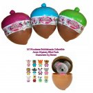 Lil Woodzeez Bobbleheads Collectible Acorn Mystery Blind Packs Series 1 Full Case of ×24 Sealed
