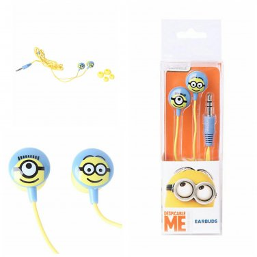 Despicable Me Minions Earbuds Earphones Headphones
