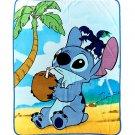 "Disney Lilo & Stitch Coconut 48"" × 60"" Super Plush Throw Blanket"