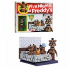Five Nights At Freddy's McFarlane Bed with Nightmare Freddy Buildable Construction Set #12038