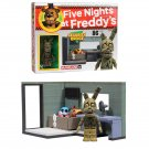 Five Nights At Freddy's McFarlane Security Office with Springtrap Buildable Construction Set #12034