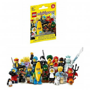 Lego Minifigures Characters Series 16 Mystery Blind Bag #71013 �60 Sealed Packs