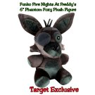 "Funko Five Nights At Freddy's FNAF 6"" Phantom Foxy Collectible Plush Figure Target Exclusive"