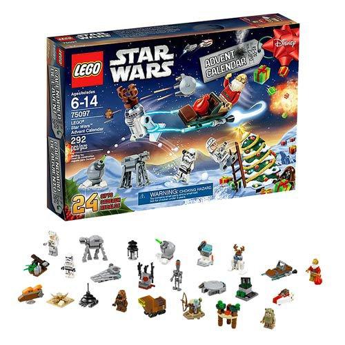 Retired Lego Star Wars Advent Calendar #75097 - 292 Pieces Building Toy
