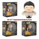 Set of 4 FUNKO Supernatural Dorbz Sam & Dean & Limited Edition Chase Castiel (+Regular) Figures