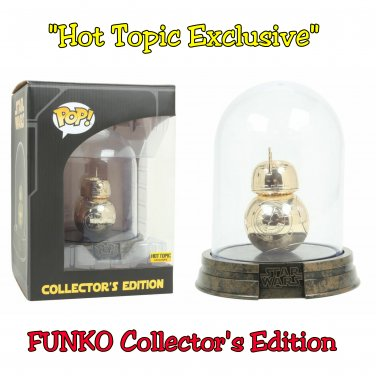 FUNKO Star Wars Rogue One Gold Chrome Dome BB-8 Collector�s Edition #01 Hot Topic Exclusive