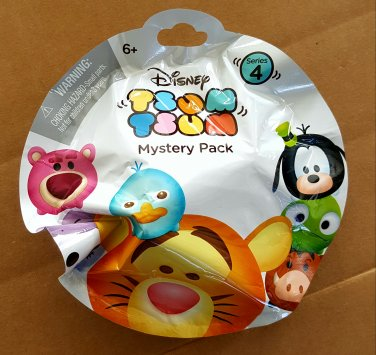Disney Tsum Tsum Series 4 Mystery Stack Pack Blind Bag Full Case of �24 Sealed Packs