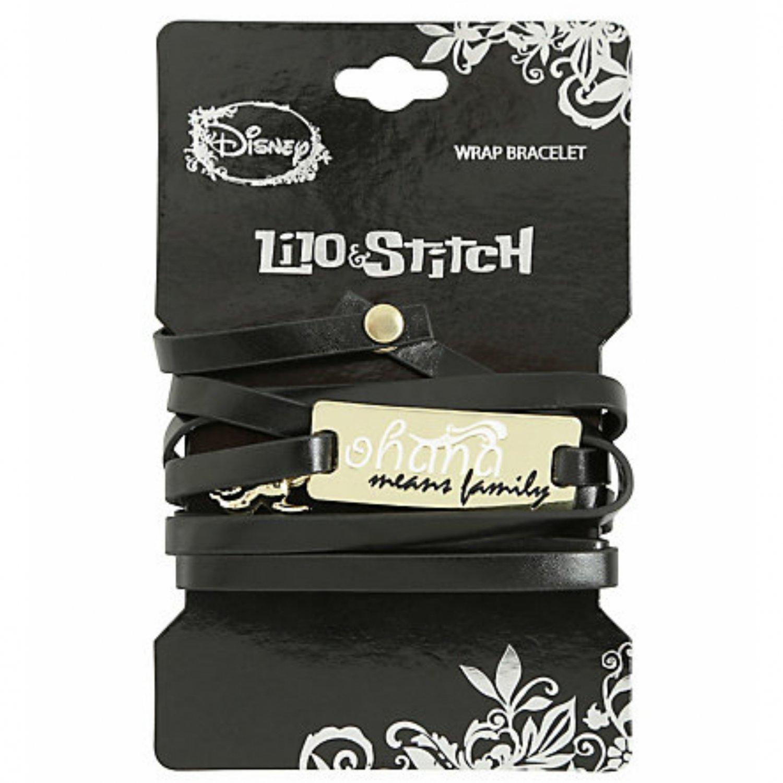 Disney Lilo & Stitch Ohana Wrap Bracelet by Love & Madness