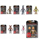 Set of 6 Funko Five Nights at Freddy's Action Figures Nightmare Freddy Bonnie Chica Foxy... Series 2