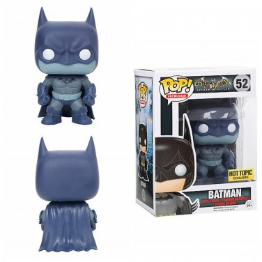 FUNKO Batman Arkham Asylum POP! #52 Batman (Distressed) Collectible Vinyl Figure Hot Topic Exclusive
