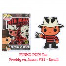 FUNKO Movie POP! #33 Freddy Vs. Jason Short Sleeve T-Shirt - Small Hot Topic Exclusive, Black