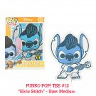 FUNKO Disney Lilo & Stitch POP! #12 Elvis Stitch Short Sleeve T-Shirt - Medium Hot Topic Exclusive