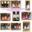 Lot of 25 Sally Hansen Miracle 2-Step Gel Manicure - Assorted Nail Polish Colors - No Light Required