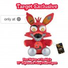 "Funko Five Nights At Freddy's FNAF Nightmare Foxy 16"" Plush Figure Target Exclusive"