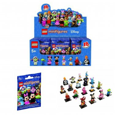 Lego Minifigures The Disney Series Mystery Blind Bag Building Toy Case of �60 Sealed Packs #71012