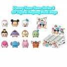 Disney Tsum Tsum Series 2 3D Foam Figural Keyring Keychain Mystery Blind Bag - ×18 Sealed Packs
