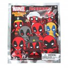 Marvel Deadpool Series 3D Collectors Keyring Keychain Blind Bag - ×11 Sealed Packs