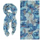 Disney Lilo & Stitch Tossed Stitch & Scrump Oblong Viscose Scarf
