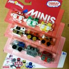 Thomas & Friends Minis Engines Saban's Mighty Morphin Power Rangers 9-Pack by Fisher-Price #DWG80