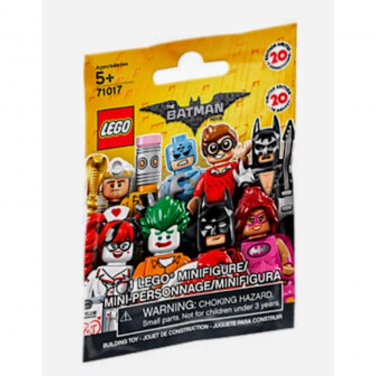 Limited Edition Series LEGO Minifigures Batman Movie #71017 Mystery Blind Bag x10 Packs Building Toy