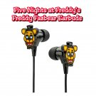 ThinkGeek - Five Nights at Freddy's Freddy Fazbear themed In-Ear Earbuds