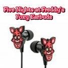 ThinkGeek - Five Nights at Freddy's Foxy themed In-Ear Earbuds