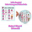 LOL Surprise! Doll Little Outrageous Littles Series 1-2 Sidekick Mermaid Blind Ball Case of ×18