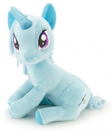 My Little Pony With Light Up Sparkle Horn Plush - Trixie By Funrise