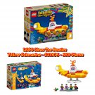 LEGO Ideas The Beatles Yellow Submarine - #21306 - 553-Pieces Building Toy